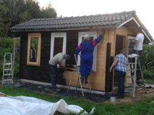 bouw slingerruimte